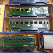 Train ancien Hornby le