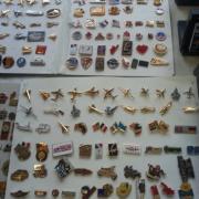 Collection des pins