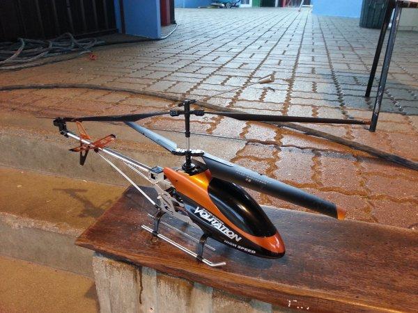 Hélicoptère pour débuter le