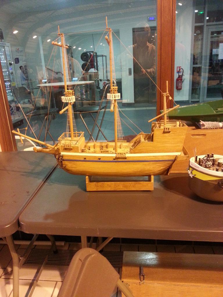 Galion de Robinson Crusoé au moment de son naufrage