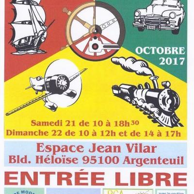 10è Salon International de Modélisme d'Argenteuil (Octobre 2017)