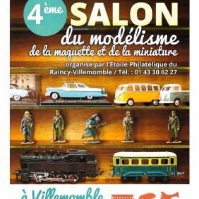 4è Salon du Modélisme de la Maquette et de la Miniature à Villemomble (Janvier 2018)