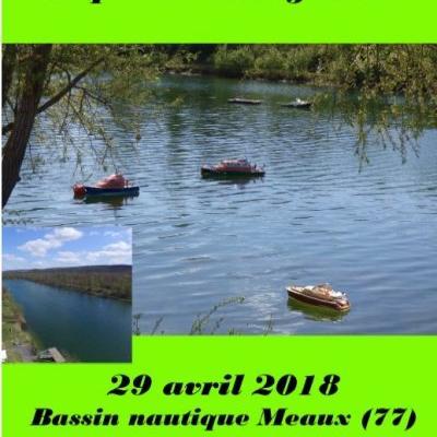 Concours Amical de Maquettes Navigantes à Meaux - (Avril 2018)