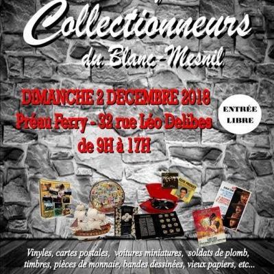 4è Salon des Collectionneurs du Blanc Mesnil - (Décembre 2018)