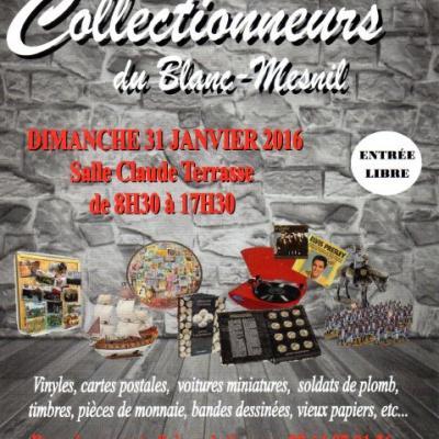 1er Salon des Collectionneurs à Blanc Mesnil (Février 2016)