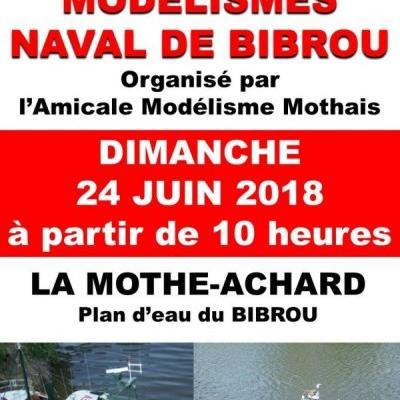 Rencontre de Modélisme Naval de Bibrou à La Mothe-Achard - (Juin 2018)