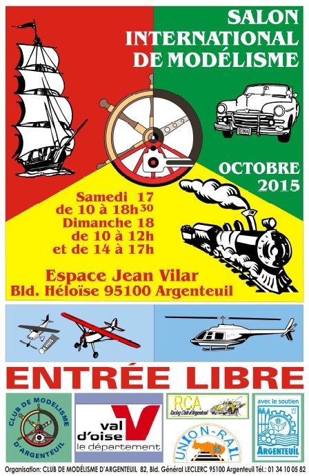 Salon iternational du mod lisme d 39 argenteuil octobre 2015 for Salon 81 argenteuil