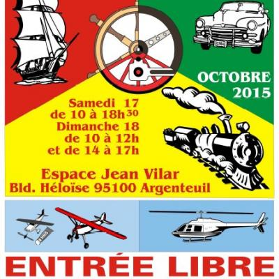 Salon Iternational du modélisme d'Argenteuil (Octobre 2015)