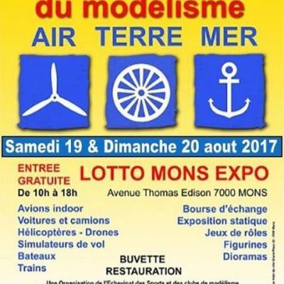 Rendez-vous International du Modélisme à Mons - (Août 2017)