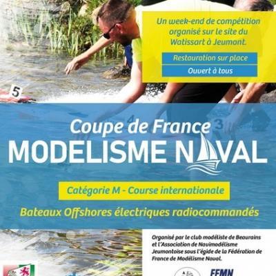 Coupe de France de Modélisme Naval à Jeumont - (Septembre 2020)