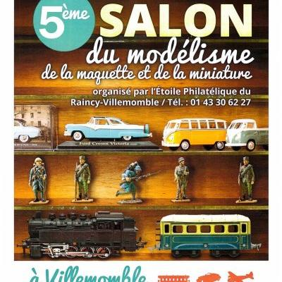Salon du Modélisme de la Maquette et de la Miniature à Villemomble  - (Janvier 2019)