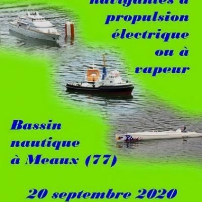 Amicale de Maquettes Navigantes à Meaux (Septembre 2020)