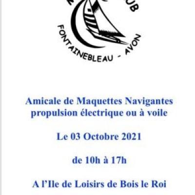 Amicale de Maquettes Navigantes à Bois le Roi - (Octobre 2021)