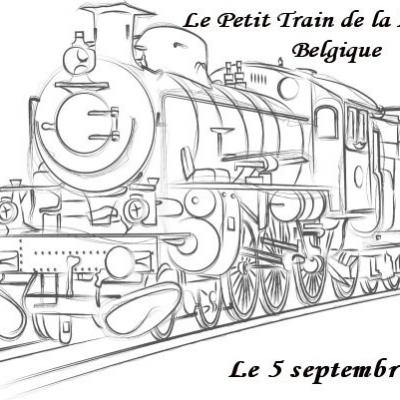 Le Petit Train de la Louvière en Belgique - (Septembre 2021)