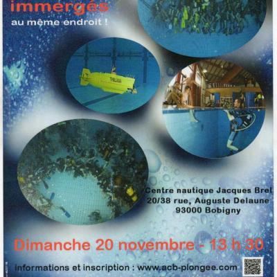 Record de plongeurs immergés au même endroit (Novembre 2012)