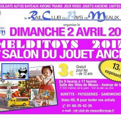 """28è Salon du Jouet ancien """"Melditoys"""" à Meaux (avril 2017)"""