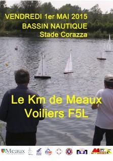 Km Voiles à Meaux (Mai 2015)