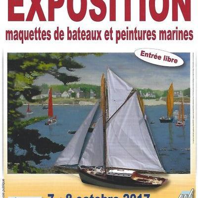 Maquettes et Peintures Marines à Magny le Hongre - (Octobre 2017)