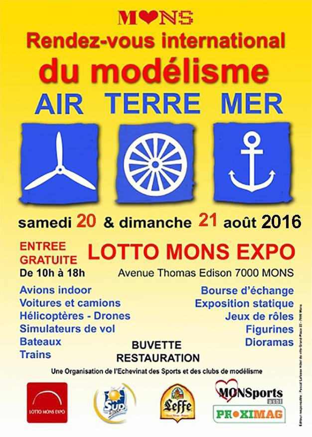 Affiche Lotto Mons Expo 2016