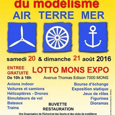 Rendez-vous International du Modélisme de Mons (Août 2016)