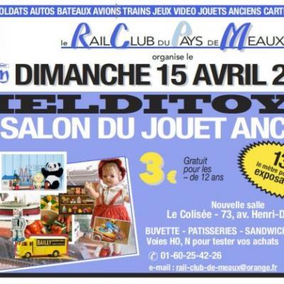 Melditoys 29è Salon du Jouet ancien à Meaux - (Avril 2018)
