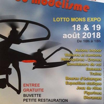 Salon International du Modélisme à MONS - (Août 2018)