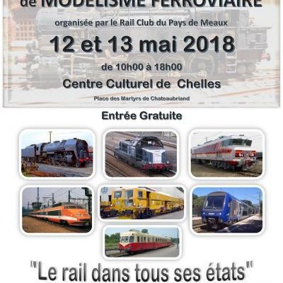 Grande Exposition de Modélisme Ferroviaire à Chelles (Mai 2018)