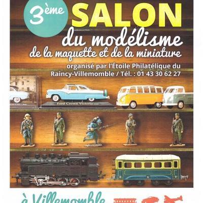 3è Salon du Modélisme de la Maquette à Villemomble (Janvier 2017)