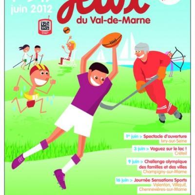 Jeux du Val de Marne à Créteil (Juin 2012)
