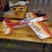 Avion pour vol Indoor
