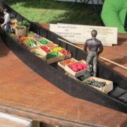 Barque à cornet de Hortillonnages d'Amiens
