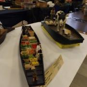 Barque à cornet des hortillonnages d'Amiens et la