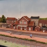 Beau décor ferroviaire