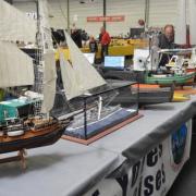 Belle brochette de bateaux
