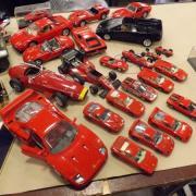 Belle collection de Ferrari