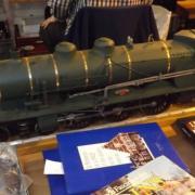 Belle locomotive à vapeur