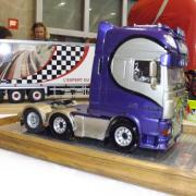Belle peinture sur cette cabine de camion