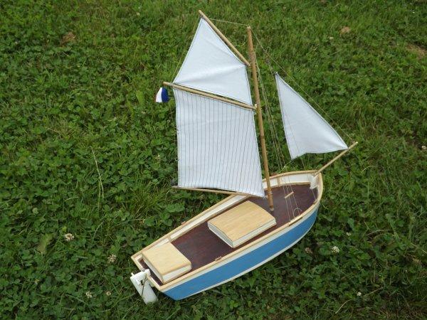 Belle petite maquette présente pour des essais de navigation