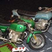 BMW R 100 RT et Kawasaki Z 1000 Z1-A
