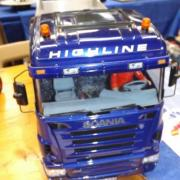 "Camion benne ""Scania Highline"""