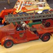 Camion de pompiers de la ville de Paris