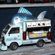Camionnette de poissonnerie