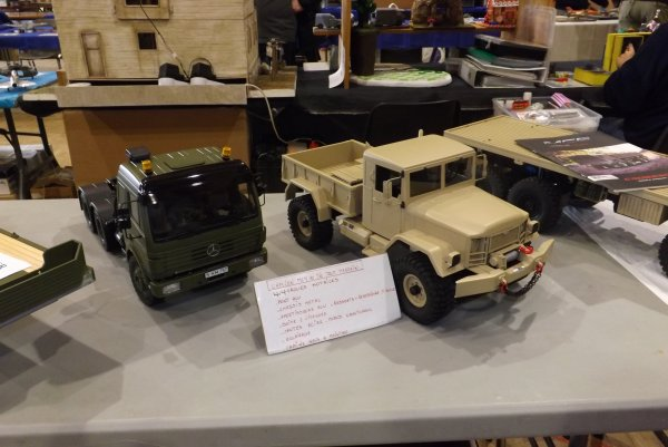 Camions 4x4 militaire