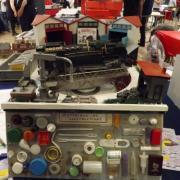 Cette locomotive est réalisée a partir des éléments ci dessous réalisation de Jacky