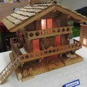 Chalet réalisé en bois