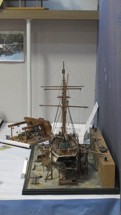 Chantier naval restauration de la Curieuse