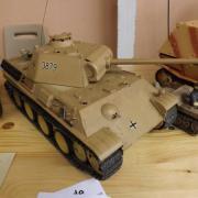 "Char allemand le ""Panther PZ-KPFW-G"""