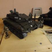 """Char américain le """"M41 Walker Bulldog"""""""