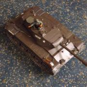 """Char """"M41 Walker Bulldog"""" en démonstration"""