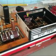 Chaudière du vapeur Teuf-Teuf